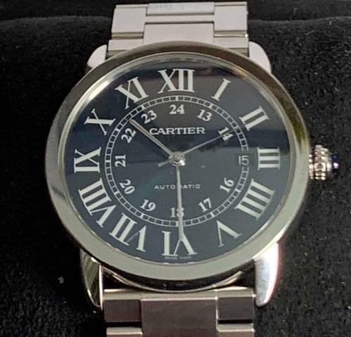 Relógio Cartier Ronde Solo 42mm Novo!