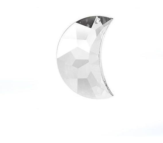 Lua De Cristal Swarovski 50 Mm Strass