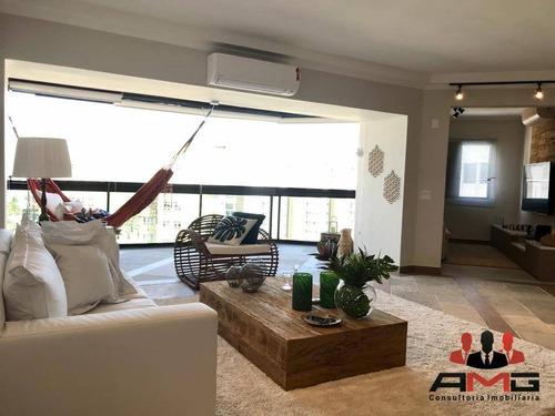 Cobertura Com 5 Dormitórios À Venda, 400 M² Por R$ 5.500.000,00 - Riviera - Módulo 3 - Bertioga/sp - Co0063