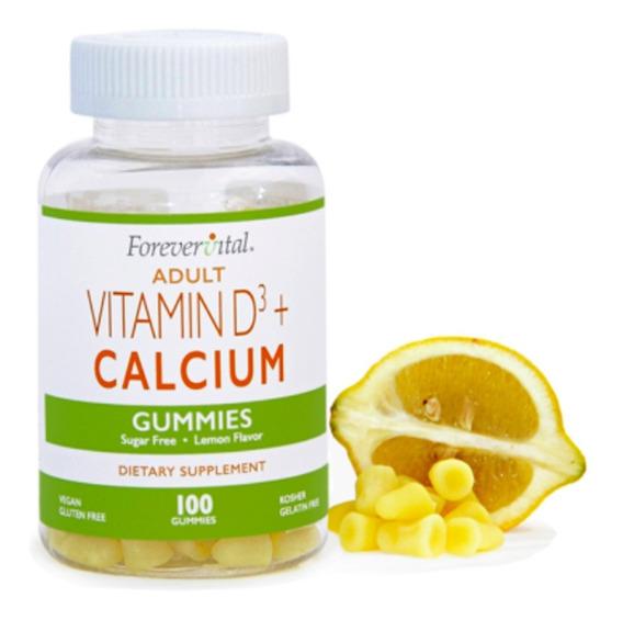 Vitaminas En Gomitas - Suplementos - Vitamina D3 + Calcio