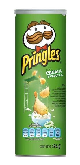 Pringles Crema Y Cebolla 124 Grs.