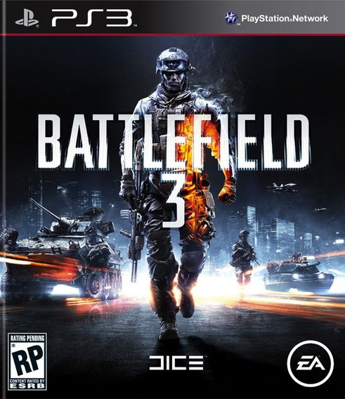 Battlefield 3 Playstation 3 Ps3 Frete Grátis Bf3 Fps