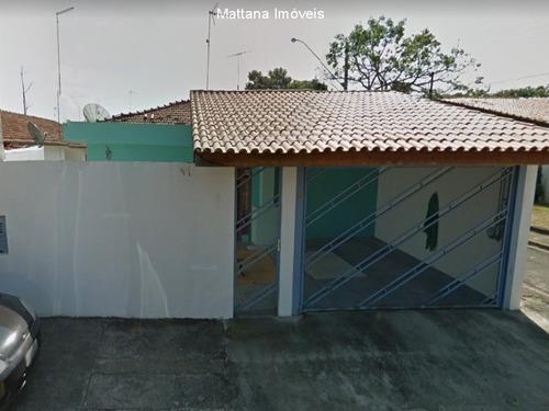 Imagem 1 de 17 de Casa Térrea No Jd. Paraíba Em Jacareí-sp - Cv366 - 69355699