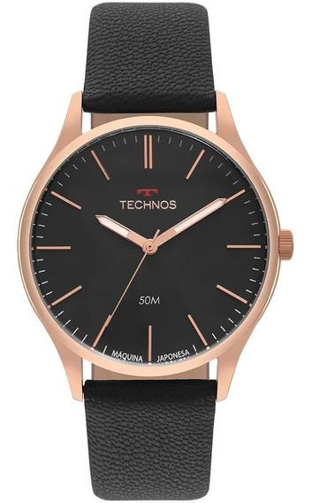 Relógio Technos Steel Masculino Dourado T31