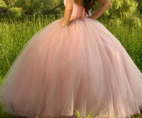 Vestido De Xv Años Rosa Pastel, En Perfecto Estado
