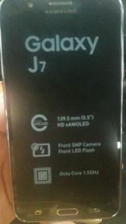 Samsung J7 Blanco Y Negro 4500
