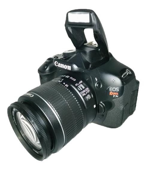 Câmera T3i 18 55 Mm Canon Impecável Seminova