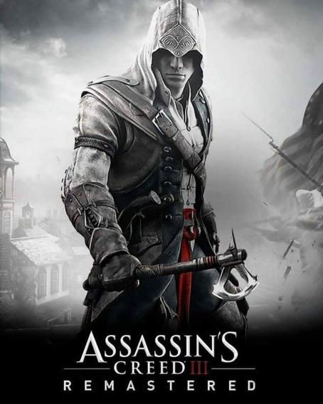 Assassins Creed Iii Remastered (mídia Física) Pc - Dvd