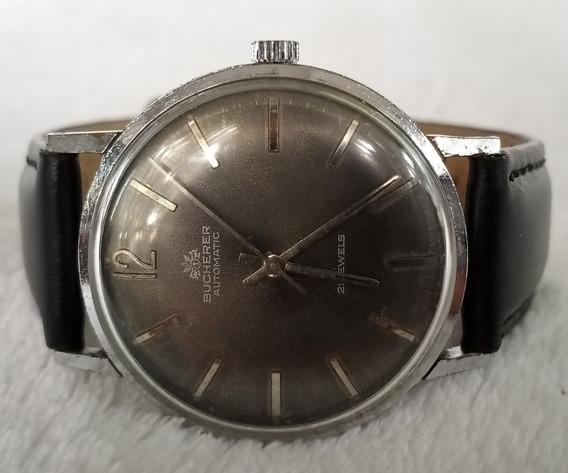 Reloj Bucherer Automatico Swiss Made Vintage Caballero