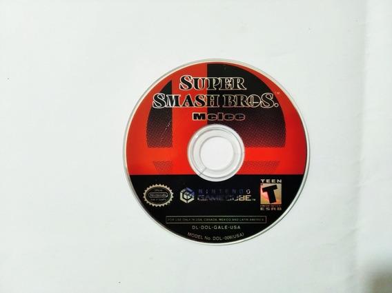 Jogo Super Smash Bros Melee Game Cube Dvd Original
