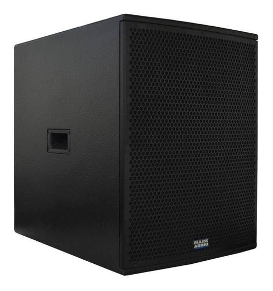 Caixa Subwoofer Ativo Mark Audio Sa1200 1x15 320 Watts Rms