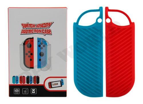 Estuche Silicon Nintendo Switch Protector Botones Silicona