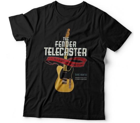 Remera Instrumentos Fender Telecaster Samcro Remeras