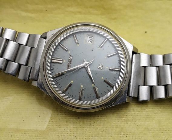 Relógio Seiko Automático Cinza