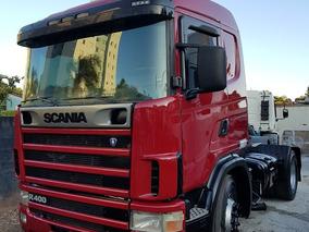Scania 124 R400 2004 Cavalo Toco Com Ar 19320 2035 2040 1634
