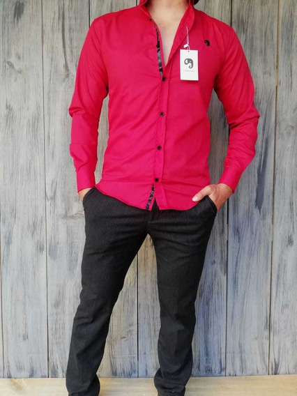 Camisa Johans Roja