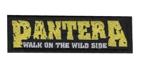 Patch Bordado - Banda Rock Pantera Dv80317