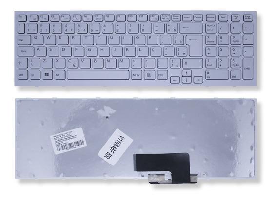 Teclado P/ Notebook Sony Vaio 148971011 Hk1