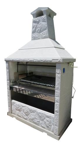 Parrilla La Gauchita 1,50 M Doble Piso Doble Fondo Refract