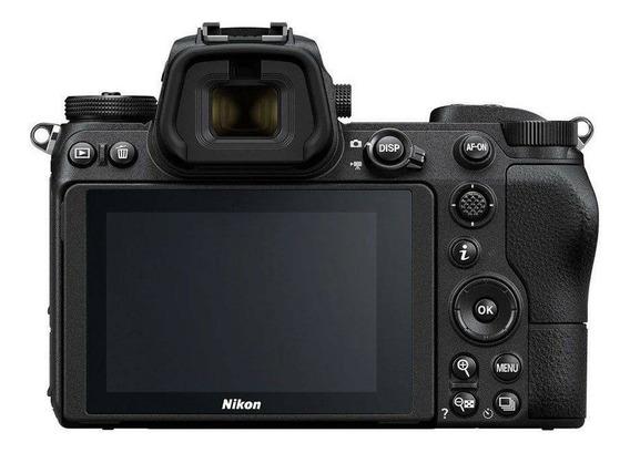 Câmera Nikon Z7 Lente 24-70mm F/4 S Uhd 4k30 Mirrorless