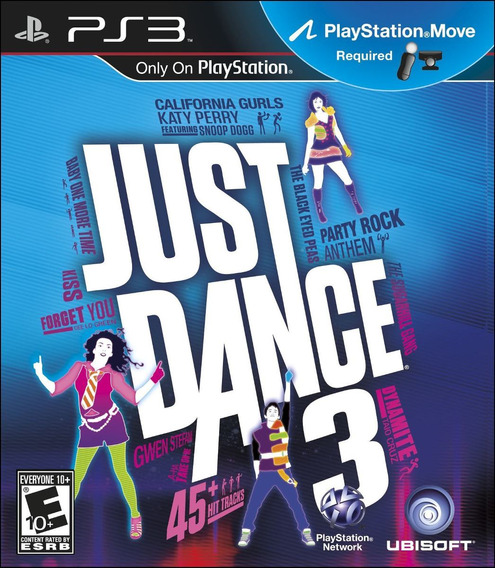 Jogo Ps3 Just Dance 3