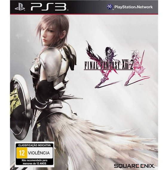 Final Fantasy Xiii 2 - Ps3 - Mídia Física