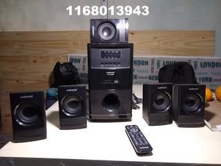 Home Theatre W-5186 Winco Lector Memoria Sd/mmc/radio Fm