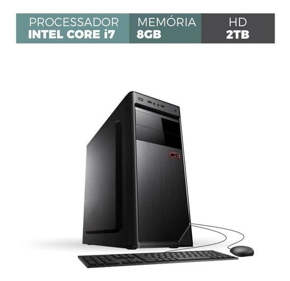 Computador Corporate I7 8gb 2tb Kit