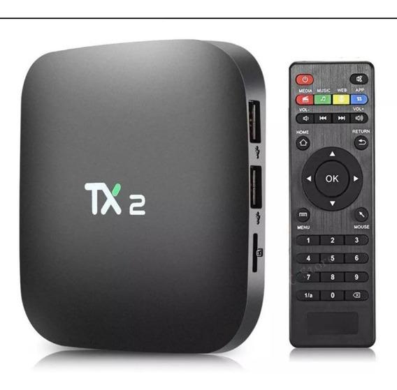 Smartv Tv Box Tx2 32gb Android 7.1 Bluetooth
