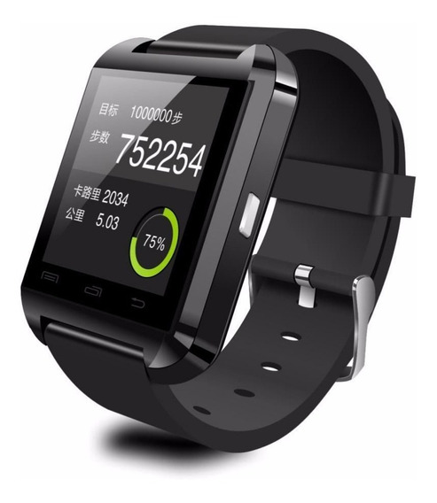 Smartwatch U8 Bluetooth iPhone Android Samsung