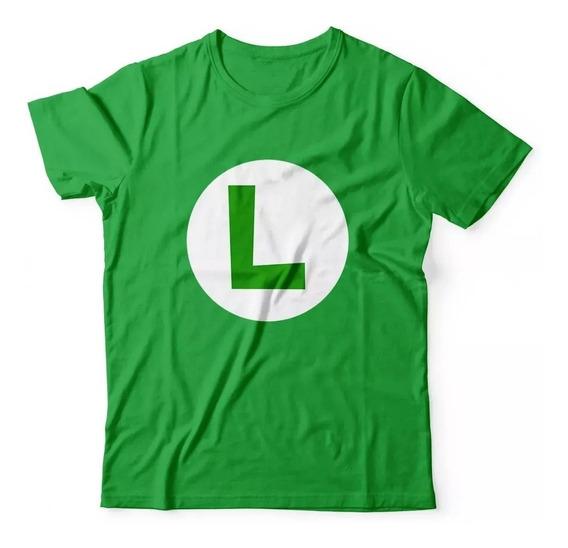 Camisa Feminina Mario Luigi Princesa Peach Personalizada Top