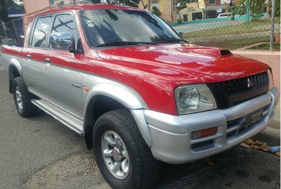 Mitsubishi L200 2001 Diesel 4x4 Automática Sana Y Impecable