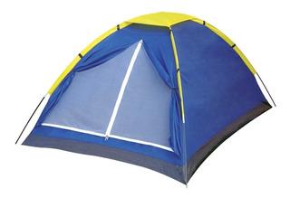 Barraca Iglu 4 Pessoas Azul Acampamento Camping 9035 - Mor