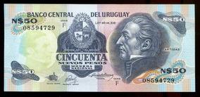 Cédulas Do Uruguai (quatro) - Flor Estampa - L.312