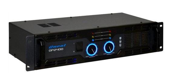 Amplificador Potência Oneal Op2400 400w Rms 4 Ohms Bivolt