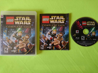 Levo Star Wars The Complete Saga Ps3 Garantizado (completo)