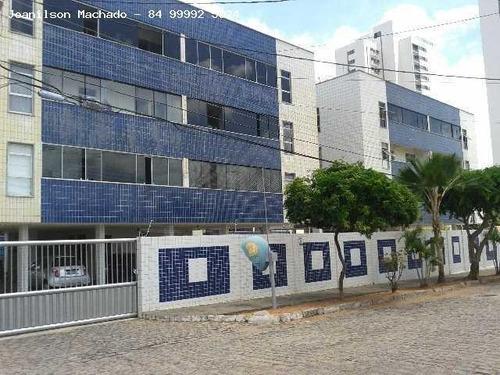 Apartamento Para Venda Em Natal, Capim Macio - Condomínio Ilha Do Atlântico, 3 Dormitórios, 1 Suíte, 2 Banheiros, 1 Vaga - Ap0658_2-661972