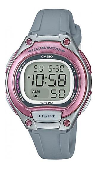Relógio Casio Illuminator Infantil Lw-203-8avdf Original