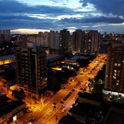 Apartamento 96mt² Mobiliado Torre Unicar$590 Mil Centro Sbc