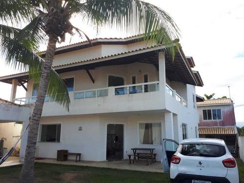 Casa Com 4 Quartos, 700m2, À Venda - Barra Do Jacuípe - Camaçari - 180