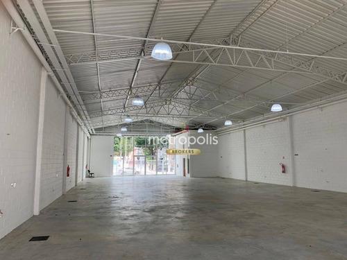 Imagem 1 de 8 de Galpão Para Alugar, 570 M² Por R$ 42.000,00/mês - Vila Prudente (zona Leste) - São Paulo/sp - Ga0348