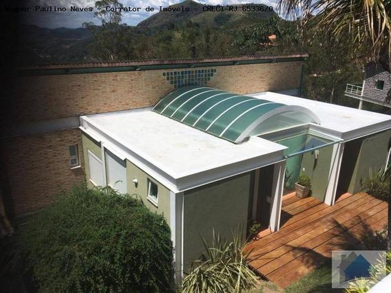Casa Para Venda Em Areal, Cedro, 4 Dormitórios, 6 Banheiros, 3 Vagas - Cs-1189