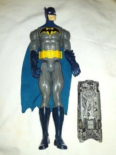 Muñeco Batman Mattel Dc Comics 30 Cm + Batimovil