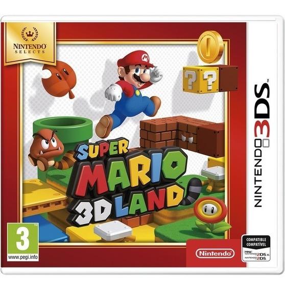 Super Mario 3d Land - 3ds Lacrado