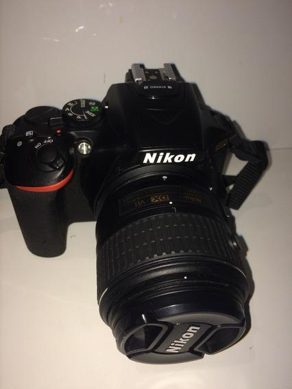 Nikon D5500 C/ Lente 18-55mm, Duas Baterias E Bolsa!