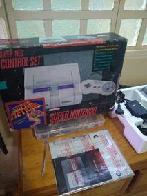 Snes 001 Com Placa De Som Offboard Super Nintendo