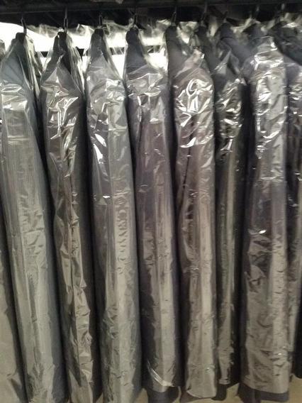 Capa Plastica Protetora Para Roupas Kit Com 100 Unidades