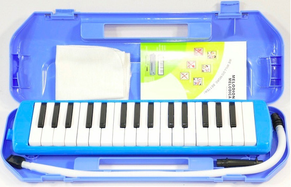 Melodica 32 Voces Con Estuche 2 Boquillas Cd Garantía Manual