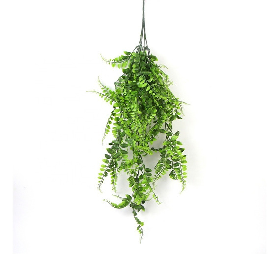Ramo Colgante Small Green Leaf Planta Artificial Decoración