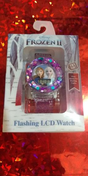 Reloj Frozen Con Luces